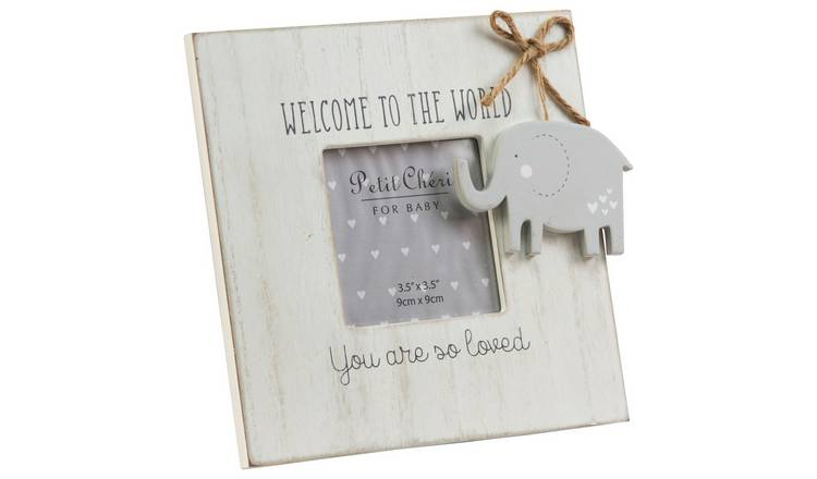Petit Cheri Baby Elephant Photo Frame