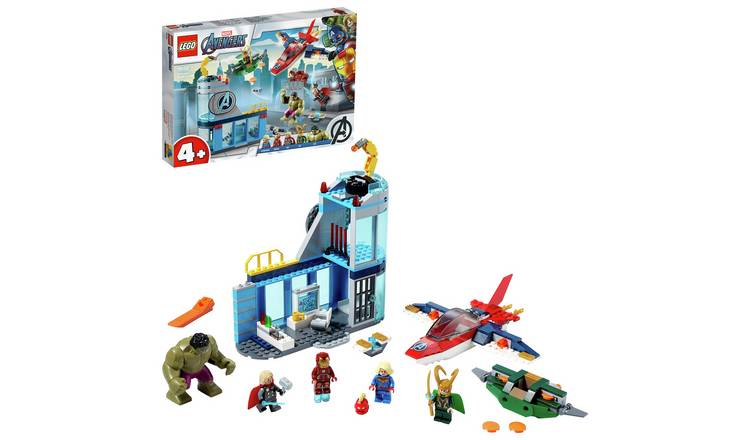 LEGO Marvel Avengers 4+ Wrath of Loki Set - 76152