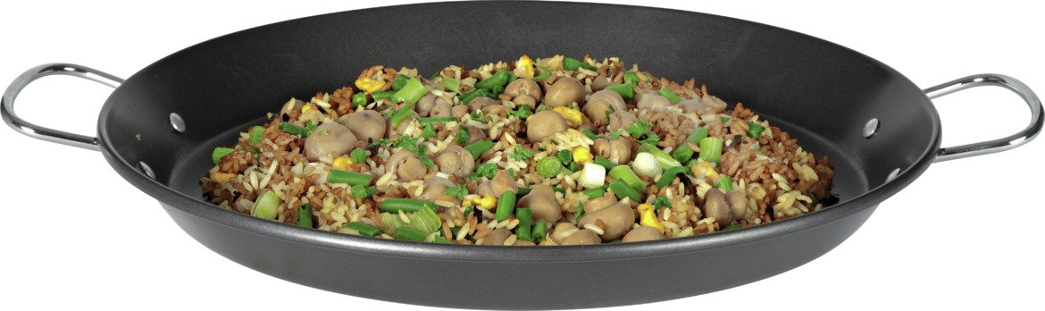 Image of HOME - 40cm Non-Stick Carbon Steel Paella Pan