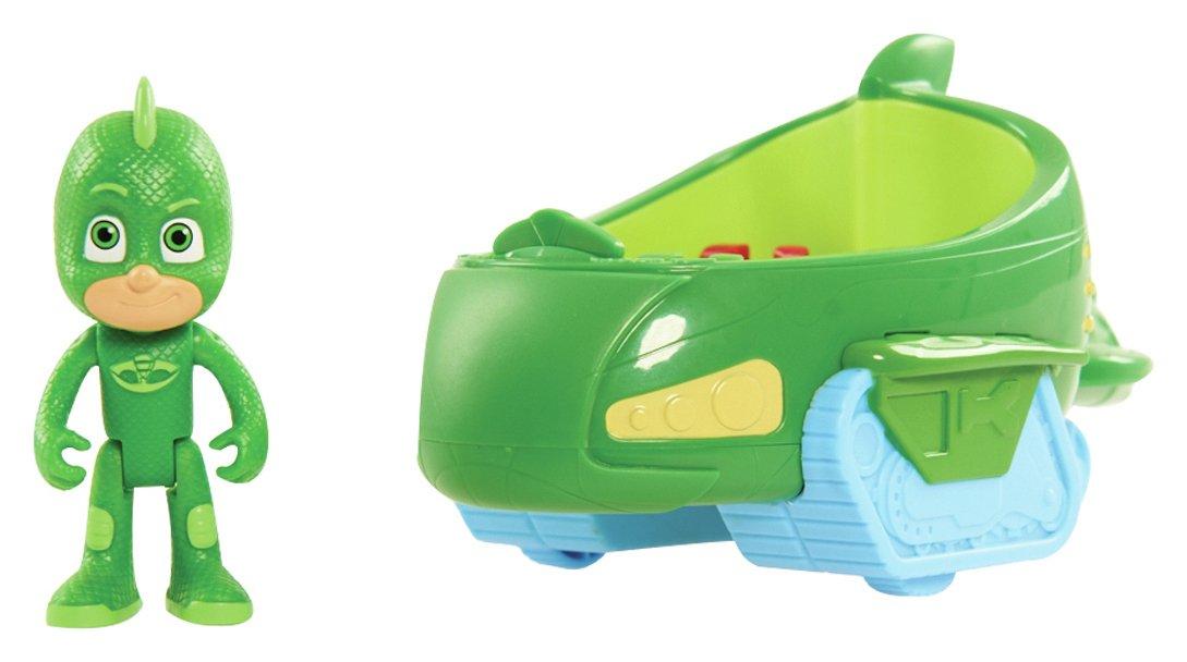 PJ Masks Gekko Figure and Vehicle