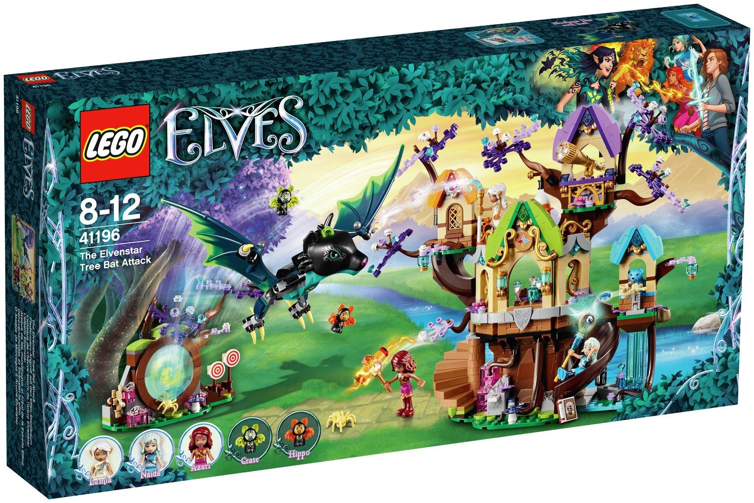 LEGO ELVES The Elvenstar Tree Bat Attack Toy - 41196