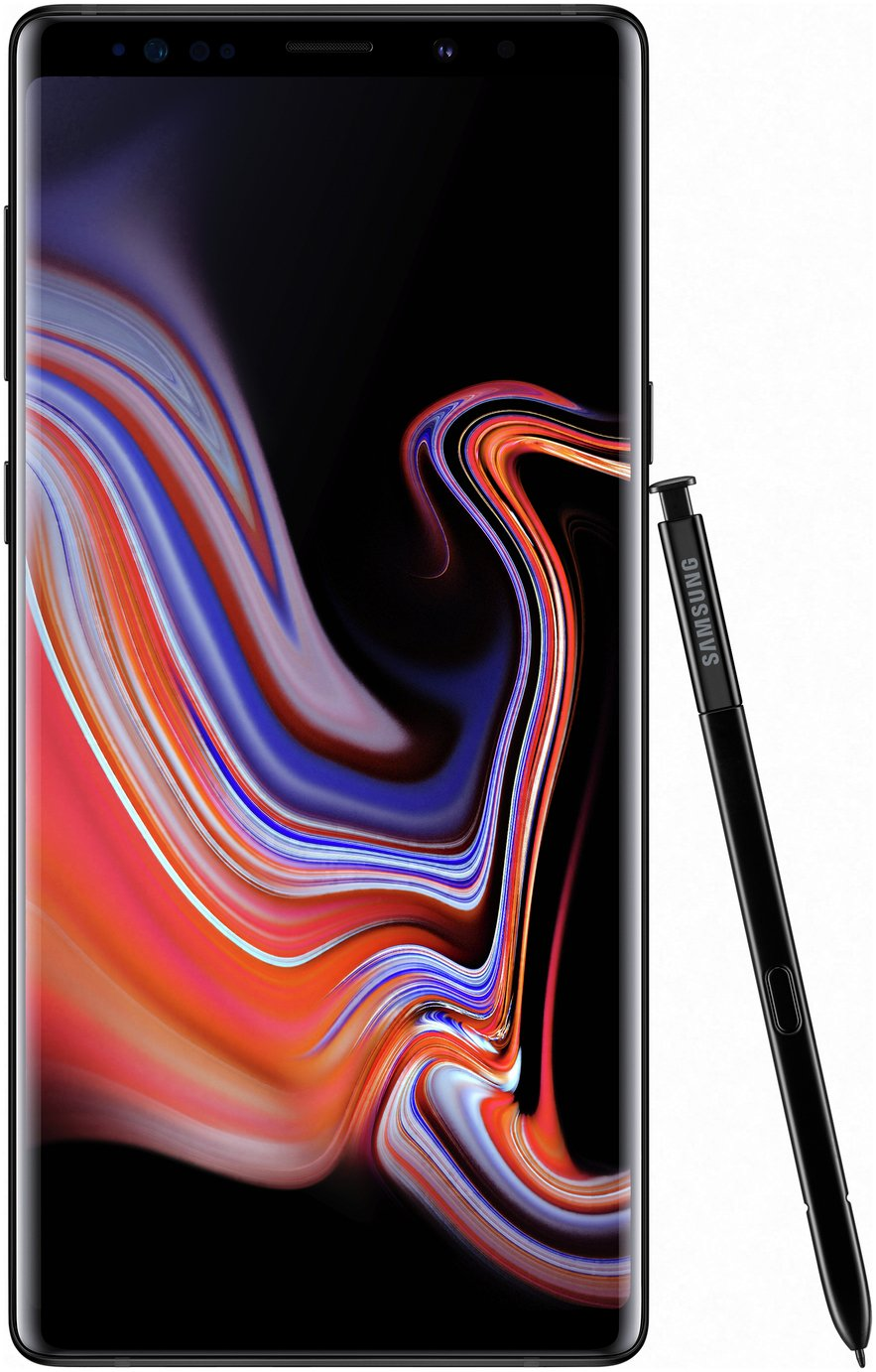 SIM Free Samsung Galaxy Note 9 128GB Mobile Phone - Black