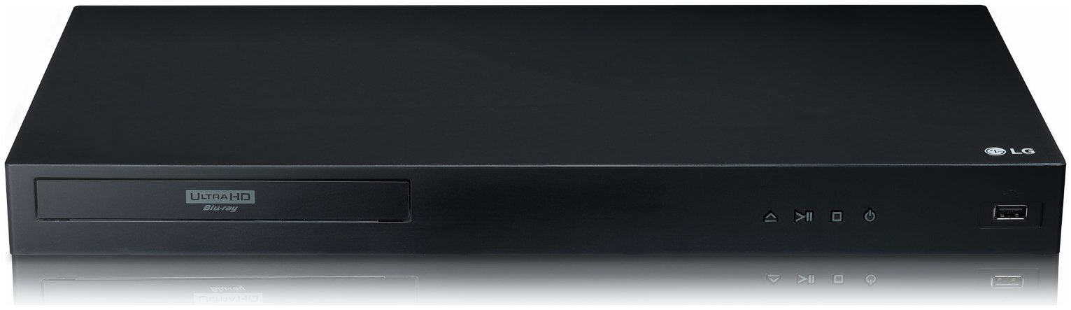 LG UBK80 4K Ultra HD Blu-ray Player with HDR