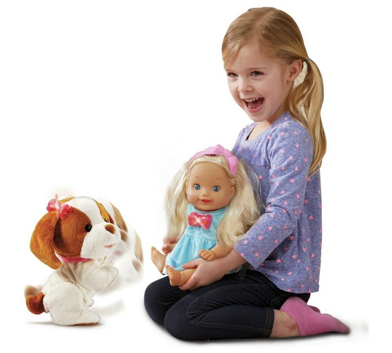 Vtech Little Love Baby Puppy Pal Little Love Will Take Special Care