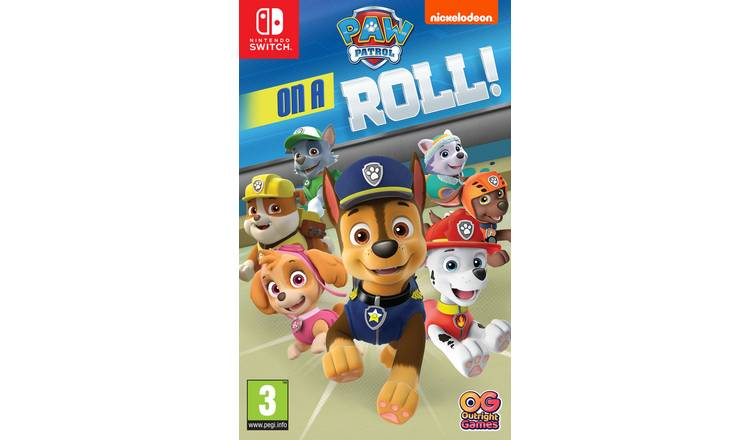 Paw Patrol: On A Roll Nintendo Switch Game