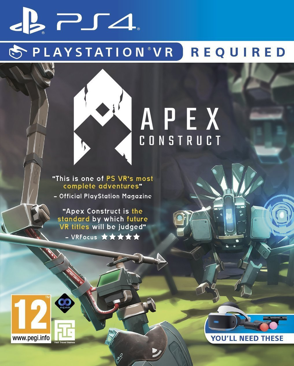 Apex Construct PS VR Game (PS4)