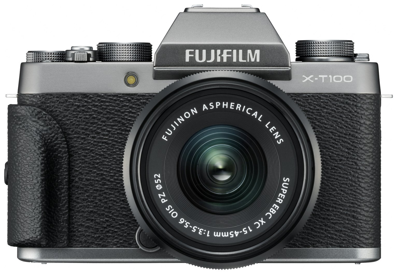 Fujifilm X-T100 24.3MP 15-45mm Compact System Camera- Silver