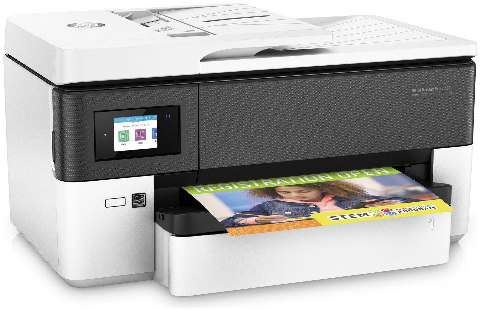 HP OfficeJet Pro 7720 A3 Wireless Inkjet Printer