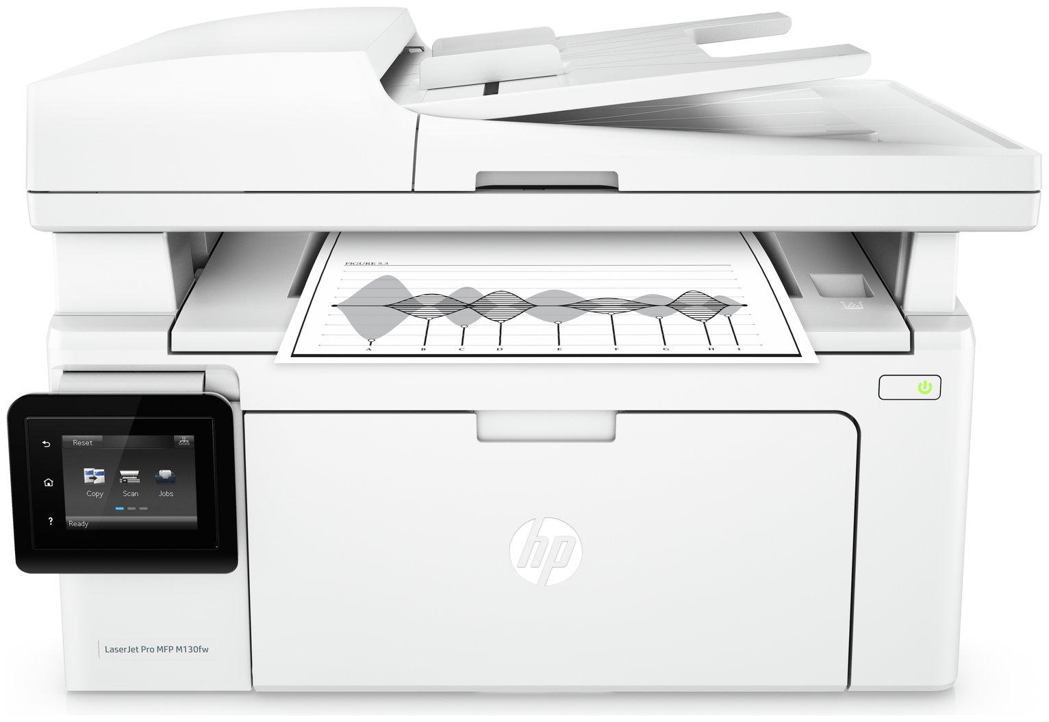 HP LaserJet Pro M130FW All-in-One Wireless MFP Mono Printer