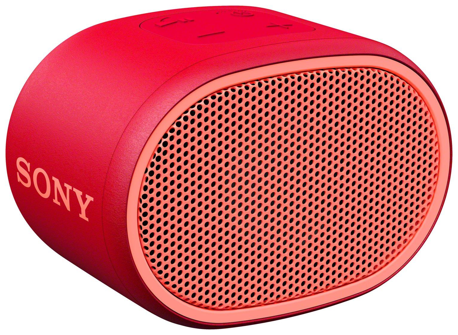 Sony SRS - XB01 Compact Wireless Speaker - Red