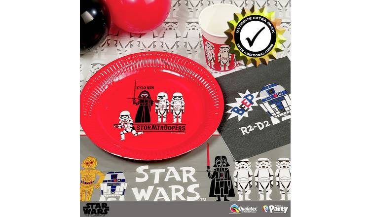 Disney Star Wars Premium Party Pack for 24 Guests
