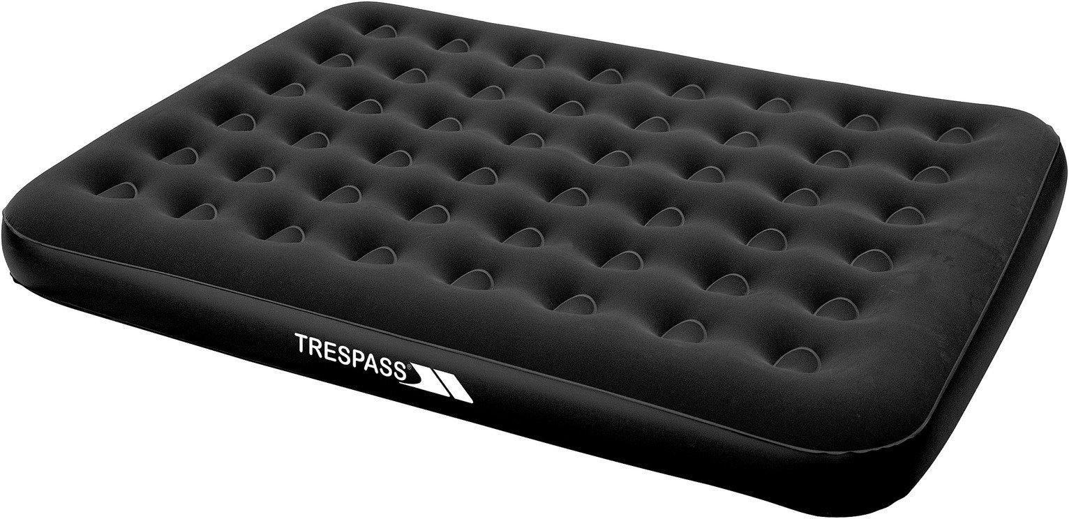 Trespass Kingsize Flocked Air Bed with Mains Pump