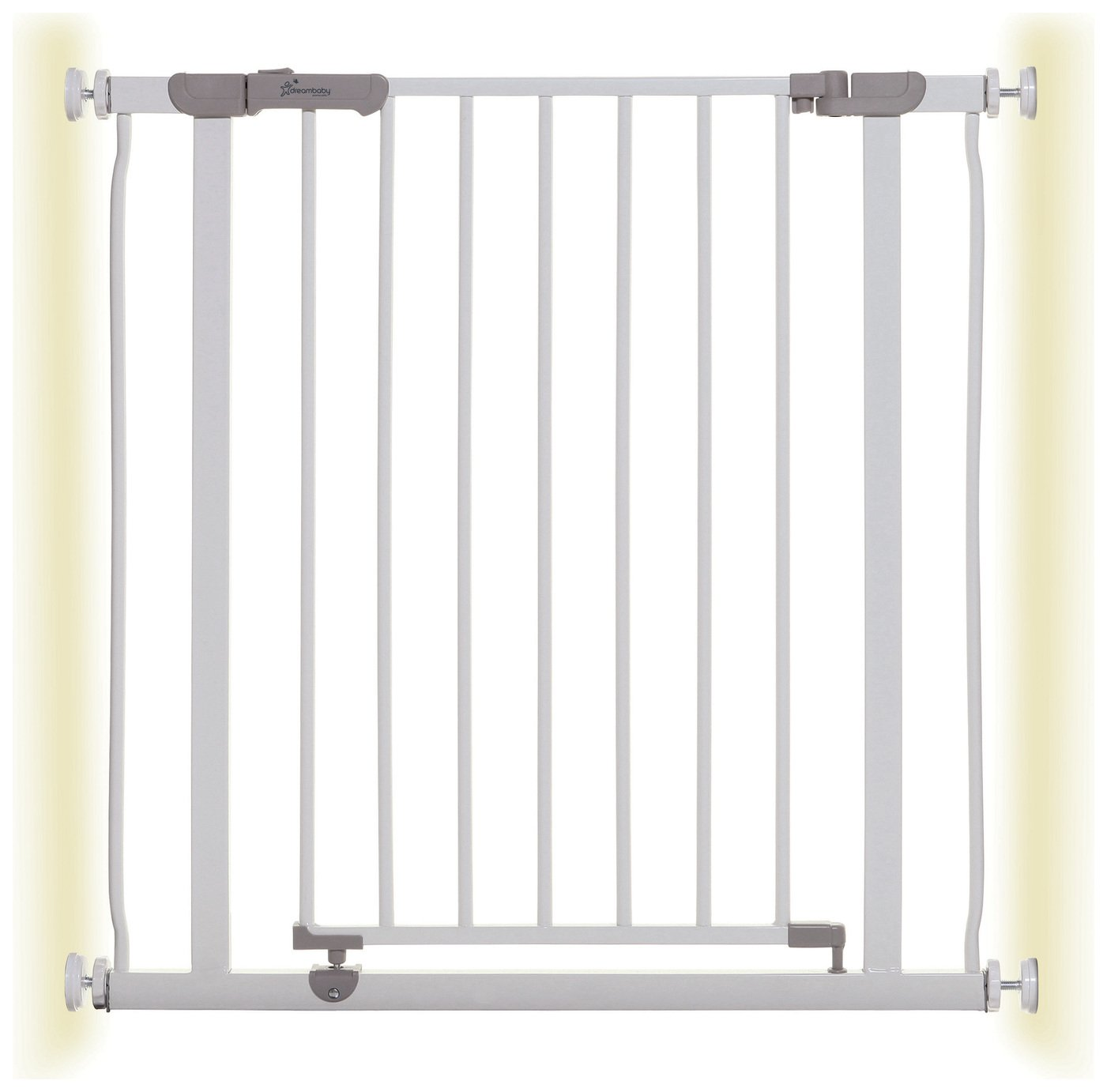 Dreambaby Ava Pressure Fit Safety Gate – White (75-82cm)