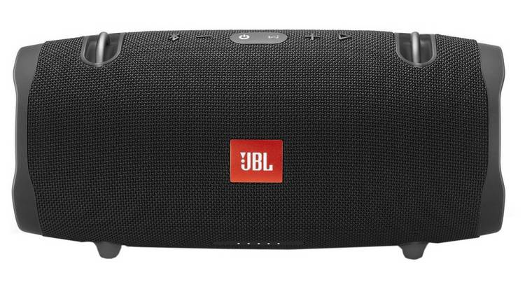 Buy JBL Xtreme 2 Bluetooth Portable Speaker - Black | Wireless and  Bluetooth speakers | Argos
