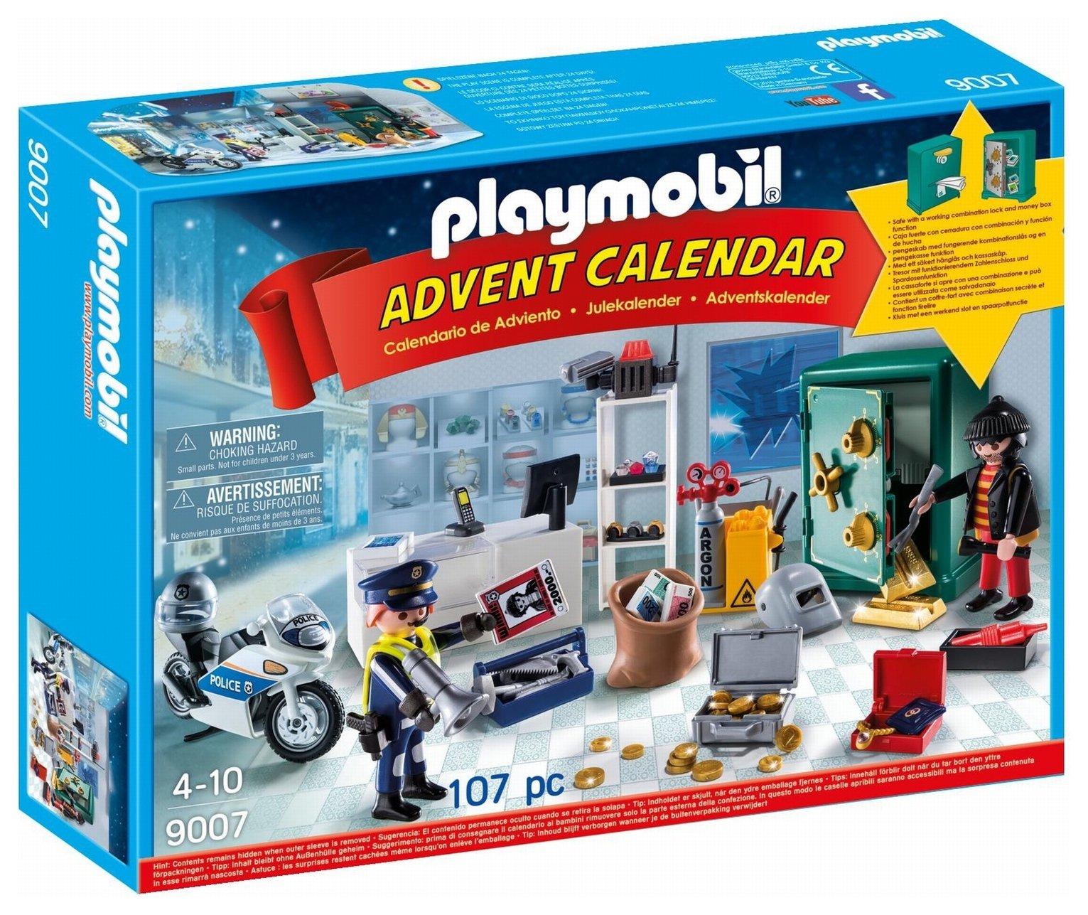 Playmobil 9007 Jewel Thief Police Operation Advent Calendar