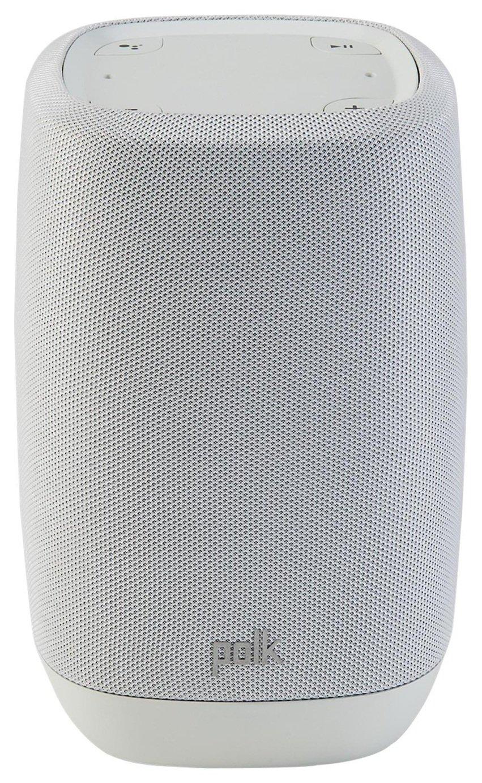 Polk Assist Smart Speaker With Google Assistant - Grey