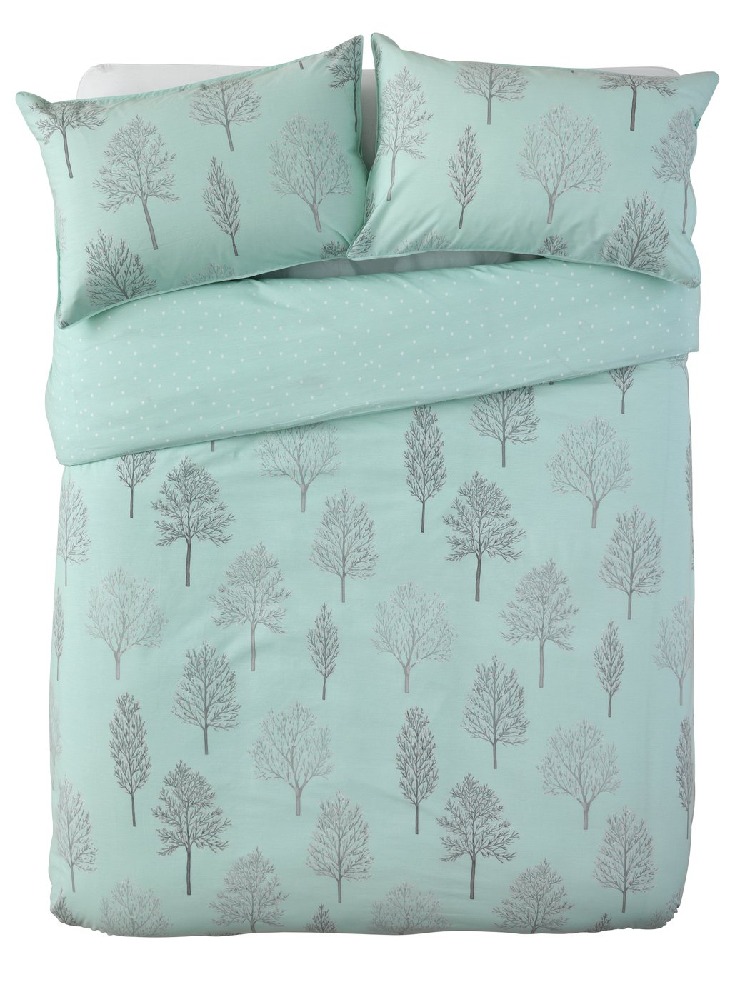 Argos Home Tree Print Bedding Set - Kingsize