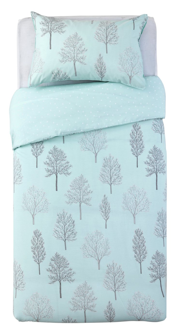 Argos Home Tree Print Bedding Set - Single
