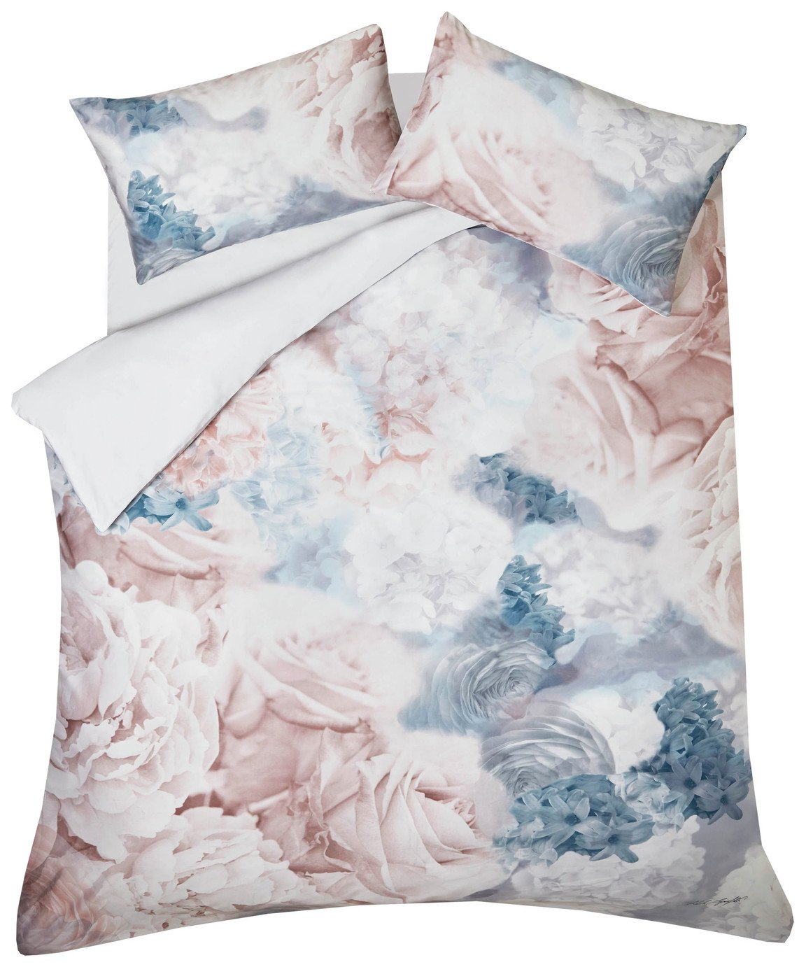 Karl Lagerfeld Flourish Bedding Set - Double