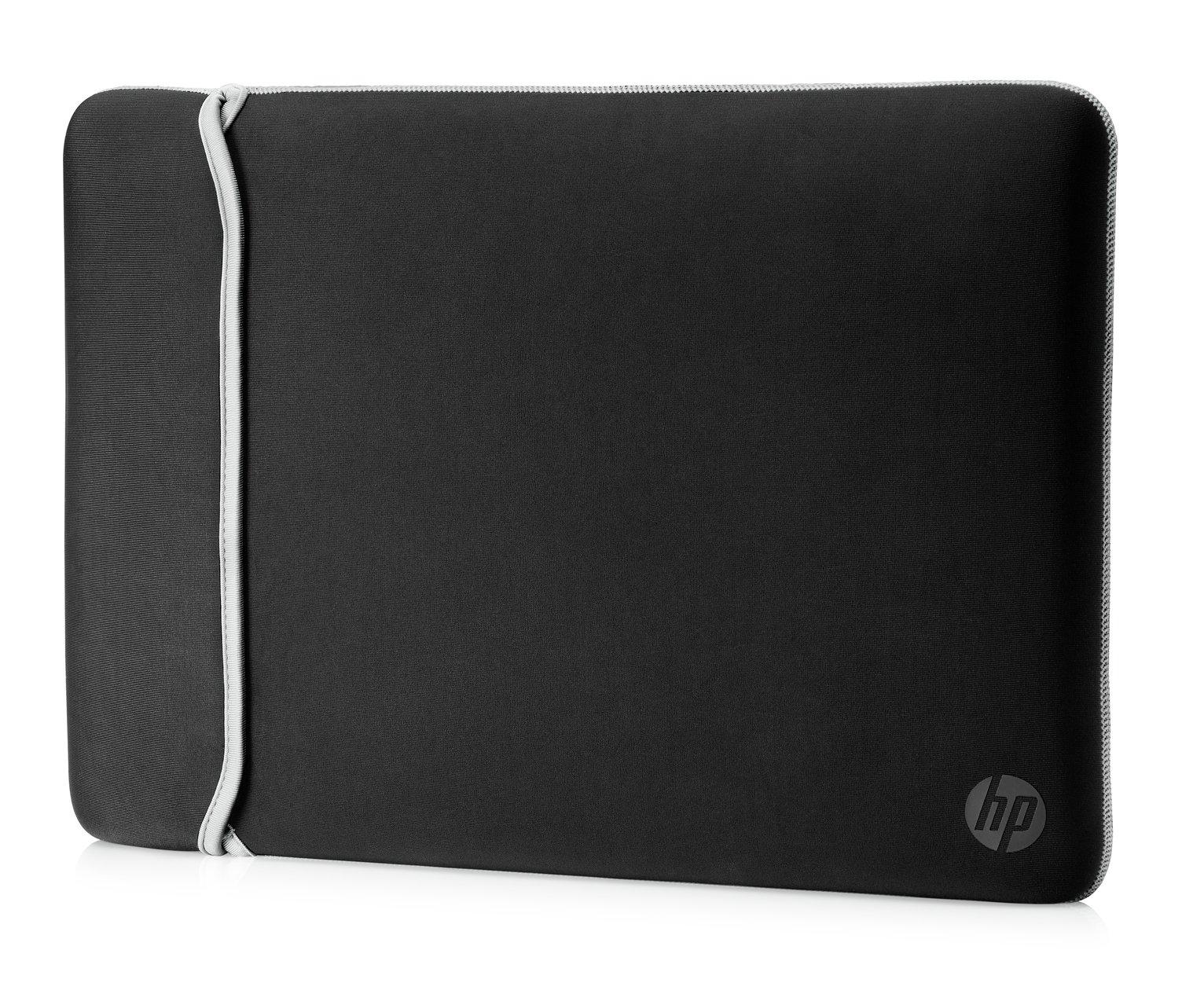 HP 15.6 Inch Reversible Laptop Sleeve - Silver & Black