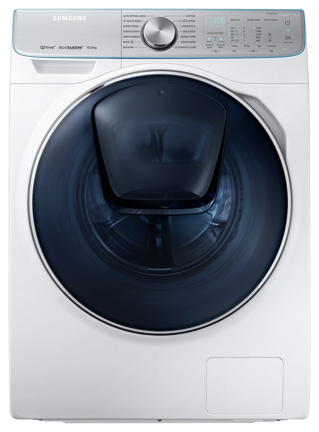 Image of Samsung QuickDrive WW10M86DQOA A+++ 50% 10kg    with AddWash in