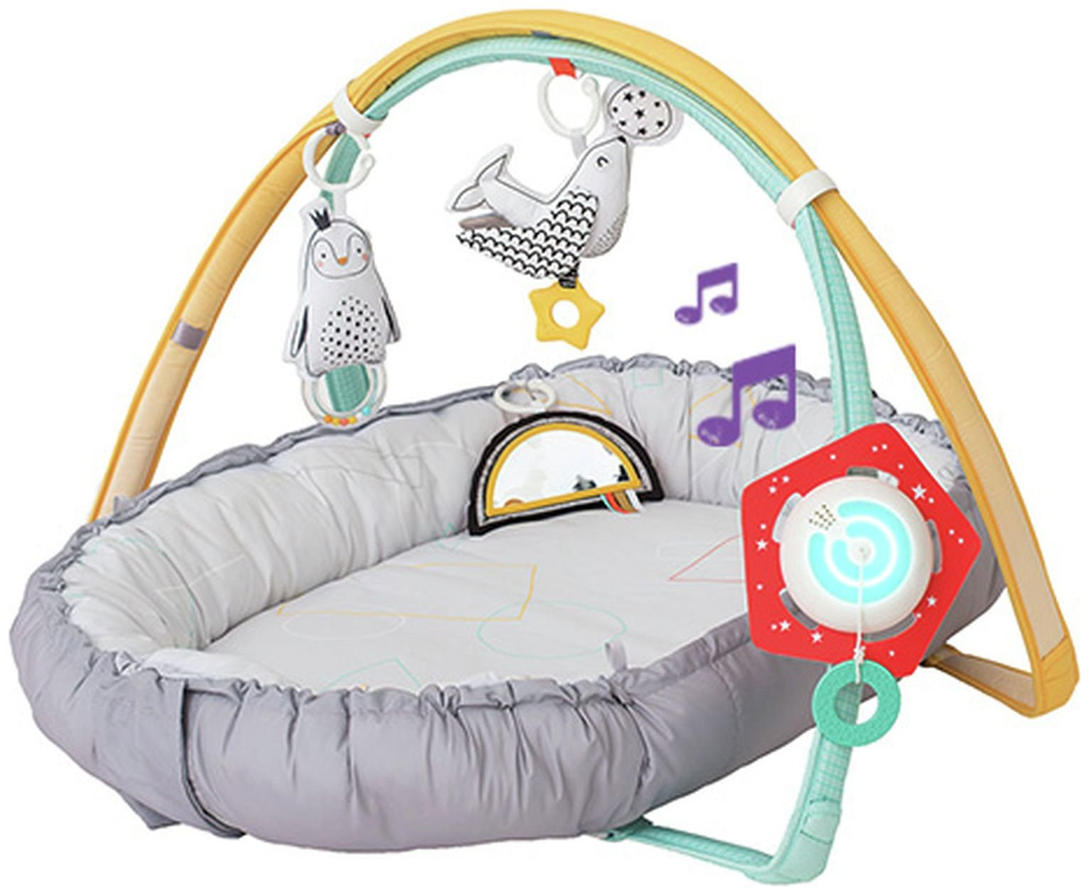 Taf Toys Musical Newborn Cosy Gym