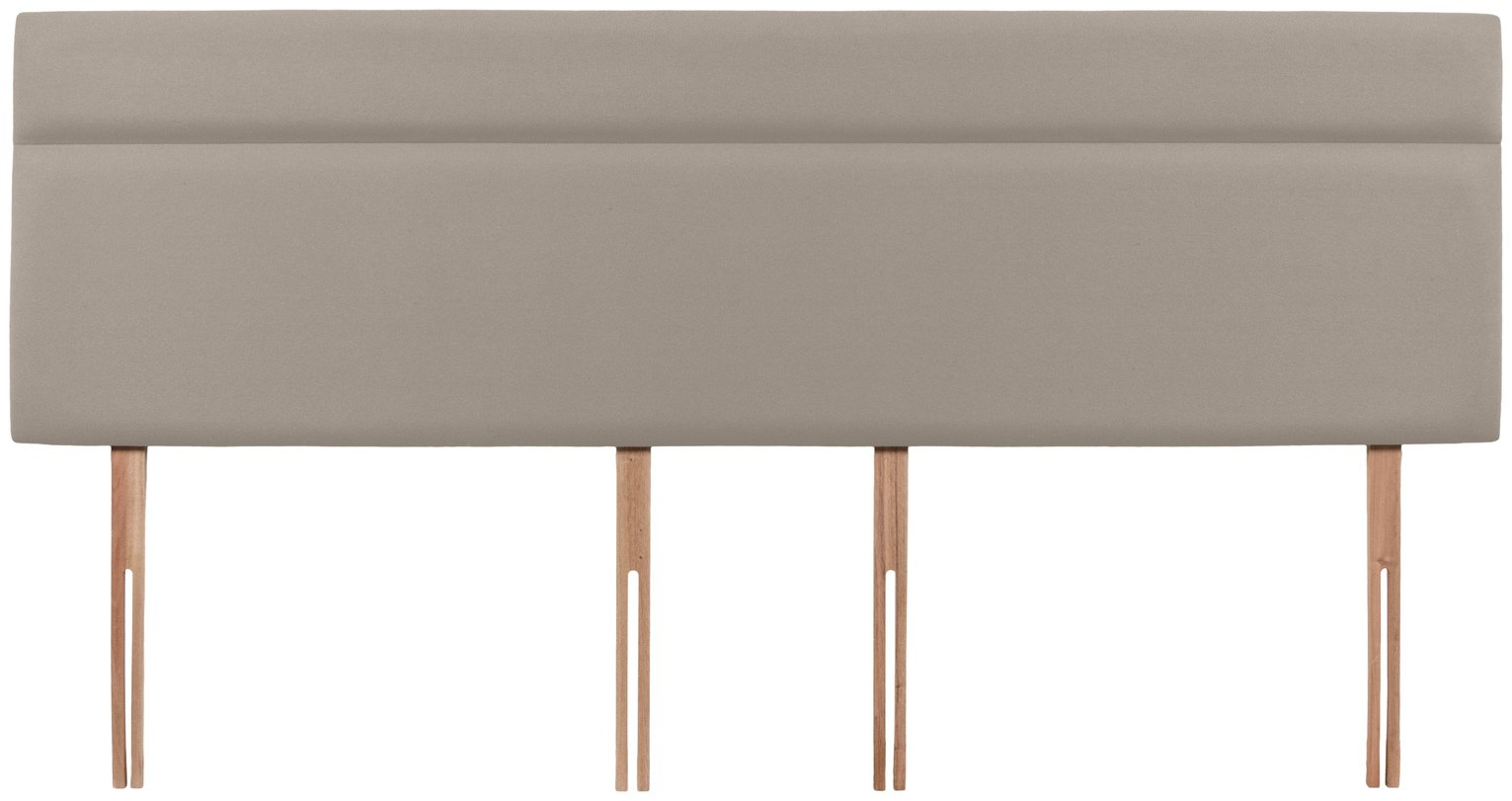 Airsprung Nile Superking Headboard - Sandstone