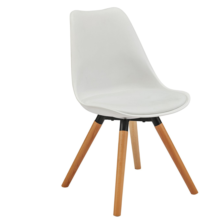 Argos Home New Charlie Chair - White
