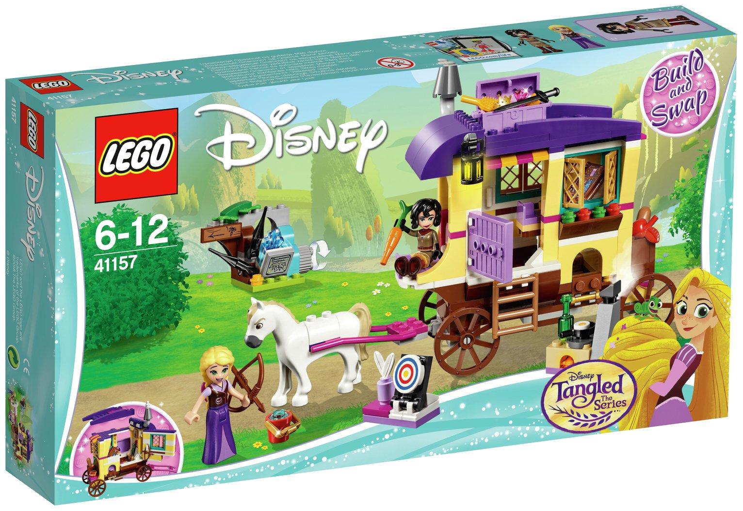 LEGO Disney Princess Rapunzel's Travelling Caravan - 41157