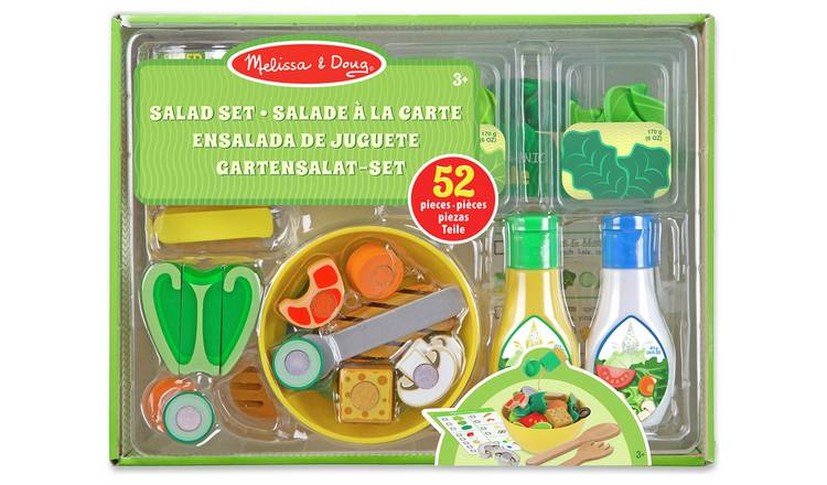 Buy Melissa Doug Slice And Toss Salad Play Food Set Role Play Toys Argos