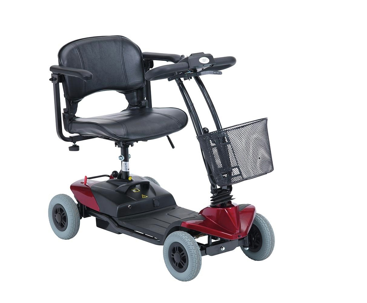 Strider 1D Lightweight Mobility Scooter - Red