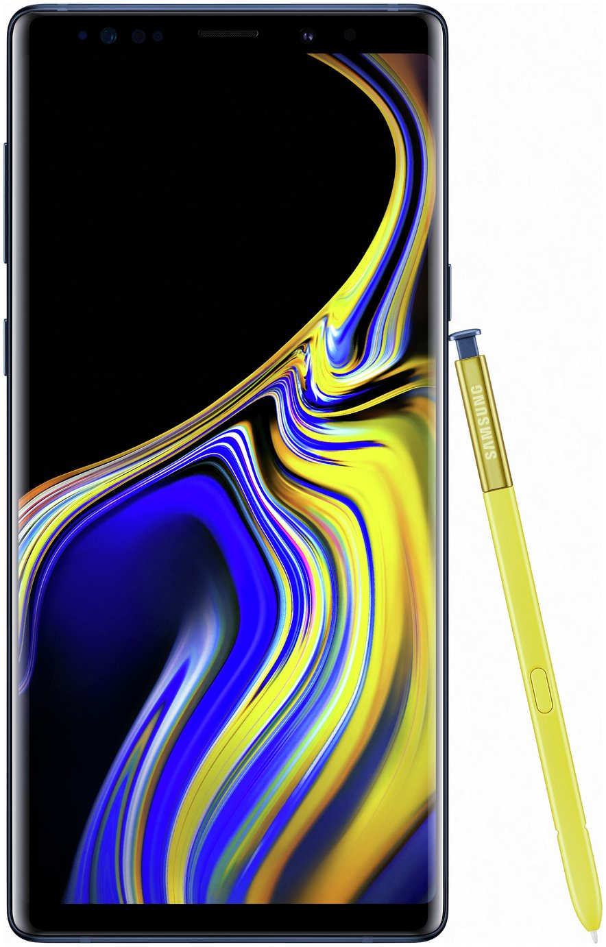SIM Free Samsung Galaxy Note 9 128GB Mobile Phone - Blue