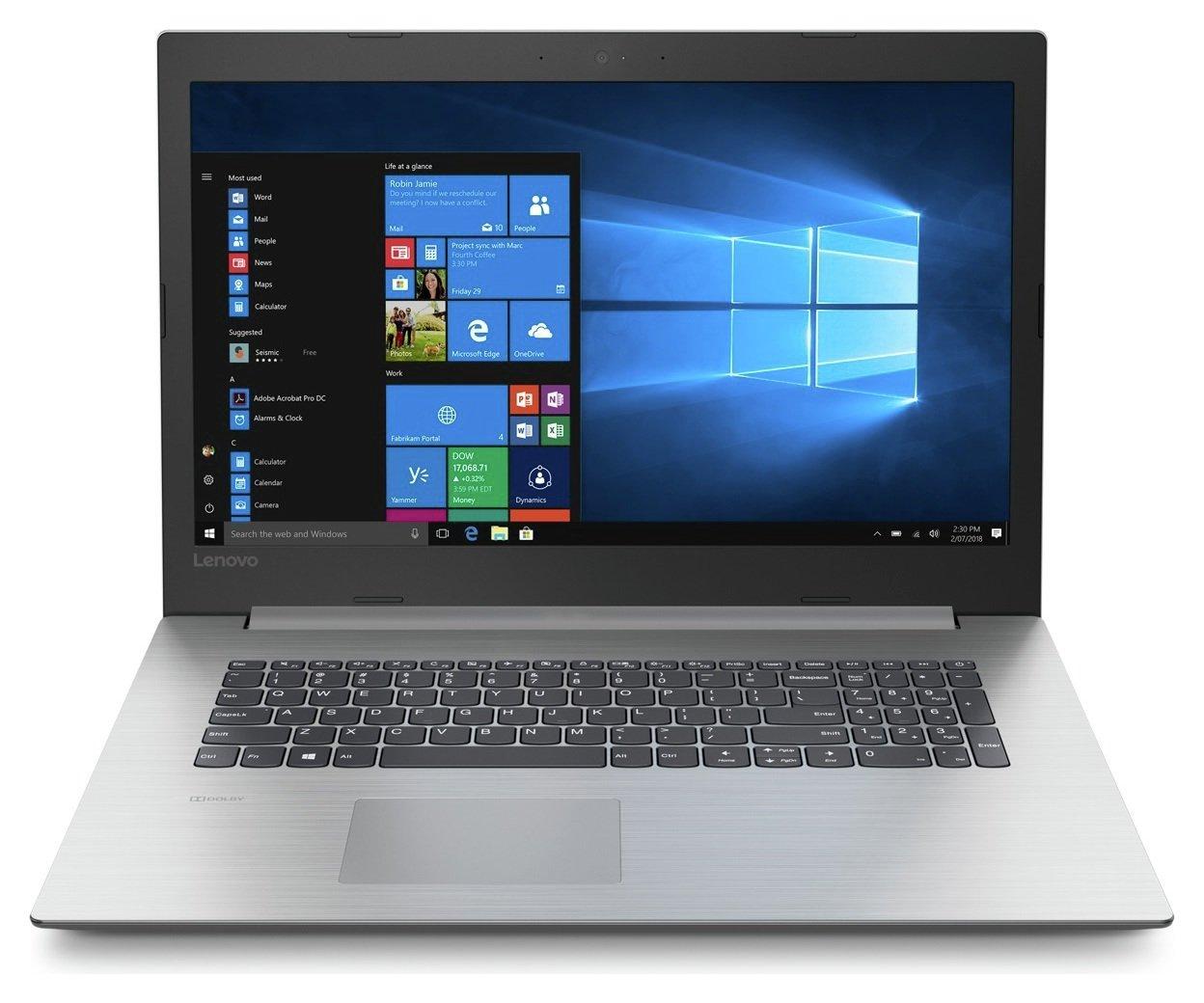 Lenovo IdeaPad 330 17.3 Inch i3 4GB 1TB Laptop - Grey
