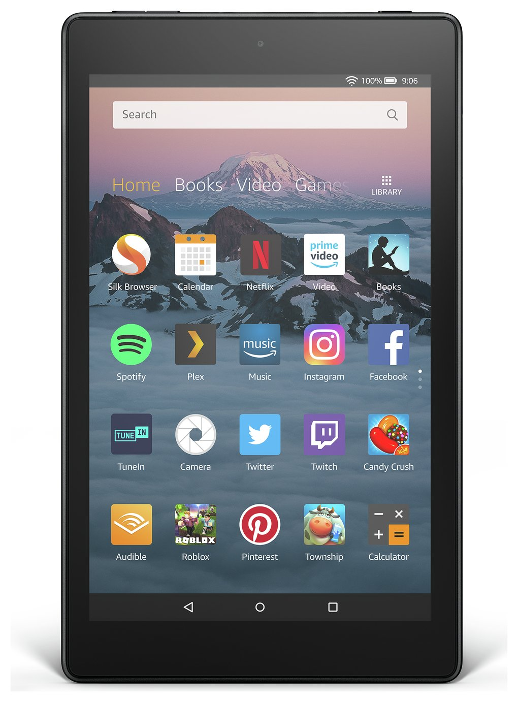 Amazon Fire HD 8 Alexa 8 Inch 16GB Tablet - Black