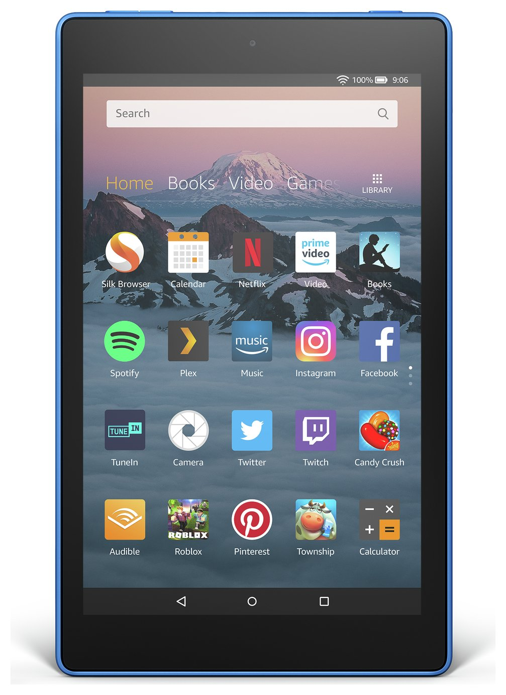 Amazon Fire HD 8 Alexa 8 Inch 32GB Tablet - Marine Blue