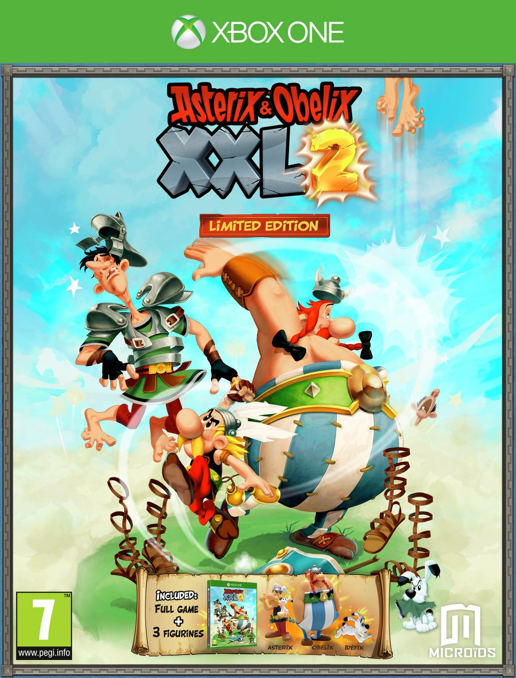 Asterix Obelix XXL2 Limited Edition Xbox One Game