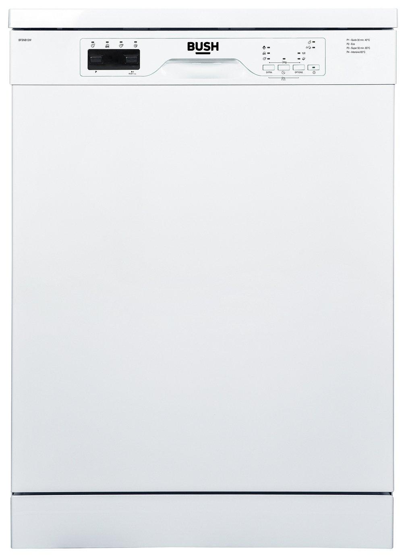 Bush BFSNB12W Full Size Dishwasher - White