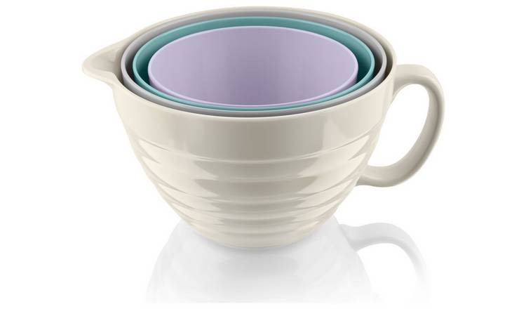 Fearne by Swan Set of 4 Stackable Mixing Bowls