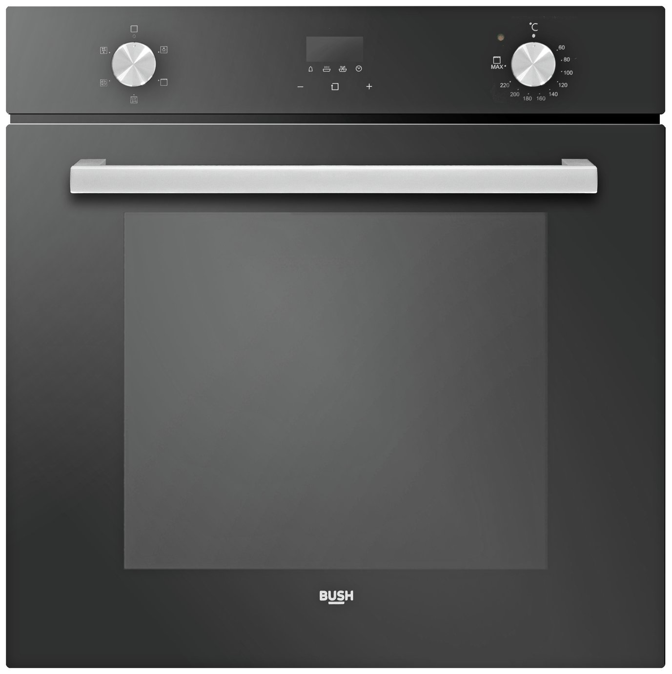 Bush RL60SPH Single Built In Electric Oven - Black
