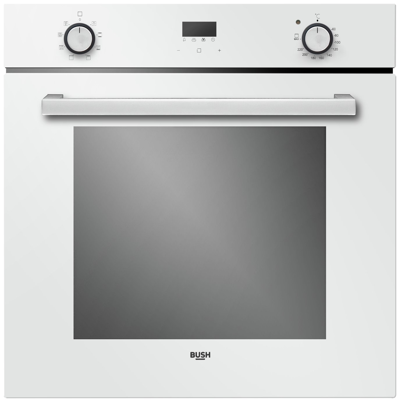 Bush LSWPMO Built In Single Electric Oven - White