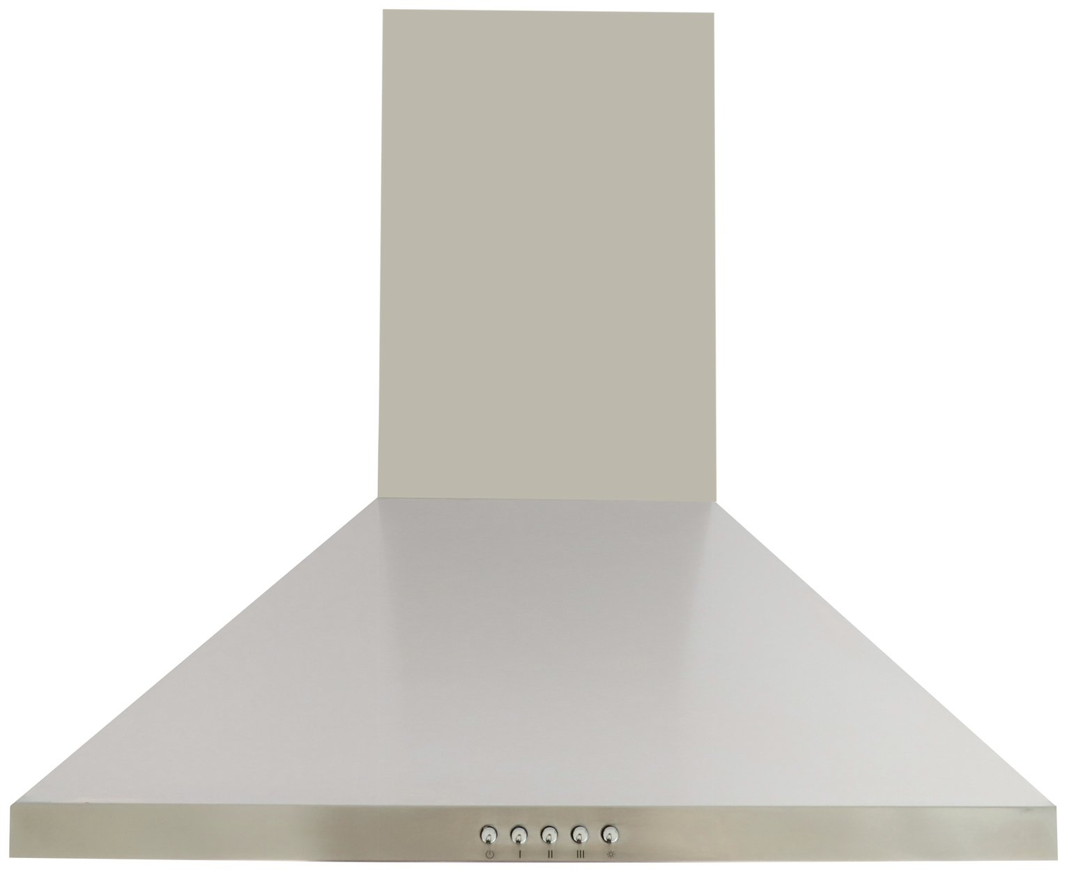 Bush BCH60SS 60cm Chimney Hood - Stainless Steel