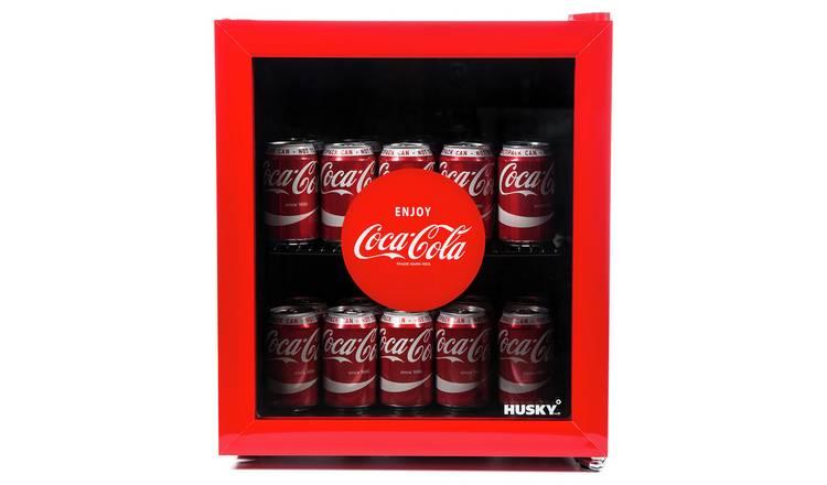 Buy Husky Coca-Cola 46 Litre Drinks Cooler - Red | Mini fridges | Argos