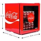 Buy Husky Coca Cola 46 Litre Drinks Cooler Red Mini