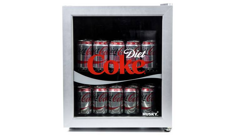 Buy Husky Diet Coke 46 Litre Drinks Cooler Silver Mini