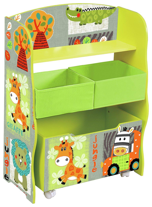 Liberty House Safari Storage Shelf & Toy Box