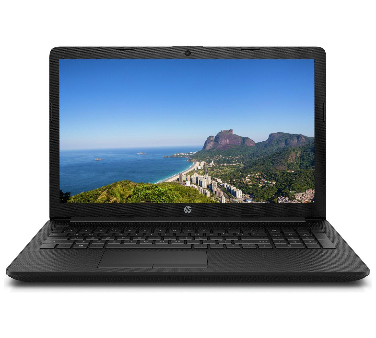 HP 17 Inch AMD A6 4GB 1TB HD Laptop - Black by HP 863/0575