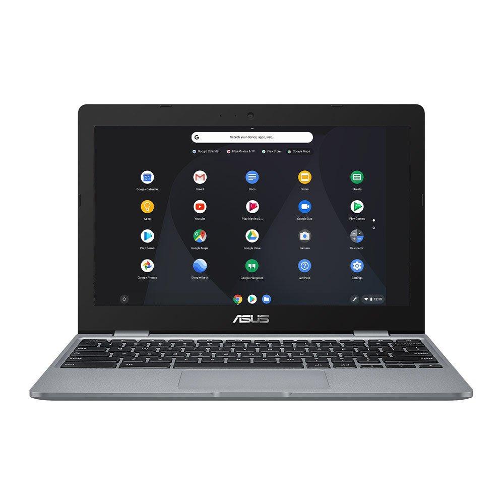 ASUS C223 11.6 Inch Celeron 4GB 32GB Chromebook - Grey