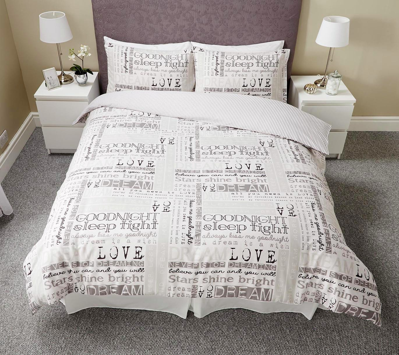 Argos Home Dream Bedding Set - Kingsize