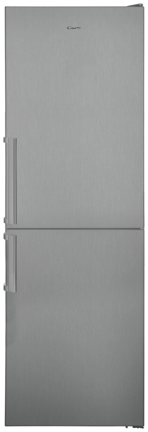 Candy CVNB 6182XH5K No Frost Fridge Freezer -Stainless Steel