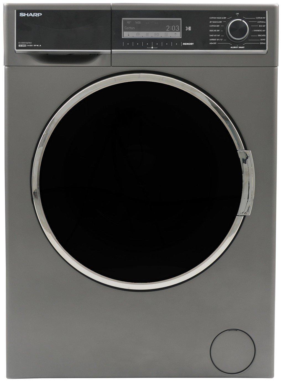 Sharp ES-HDD1047A0 10/6KG 1400 Spin Washer Dryer- Anthracite